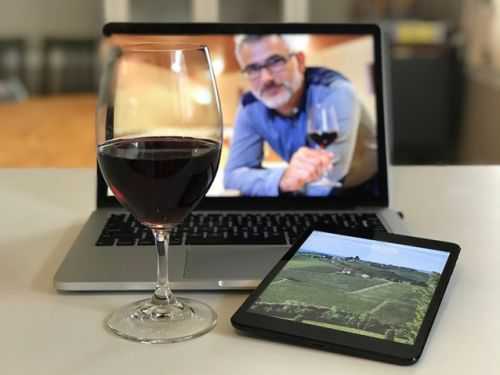 Explore the future of virtual tastings with me Wednesday from anywhere. Taste Alpine Chardonnay and Knödel with me Thursday in Houston