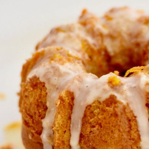 Honey Orange Bundt Cake
