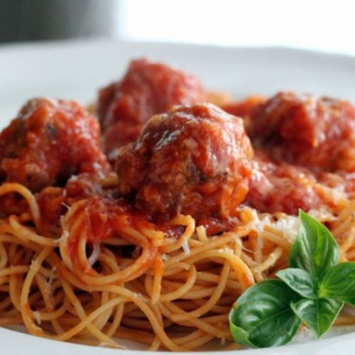 Homemade Spaghetti and Meatballs Re