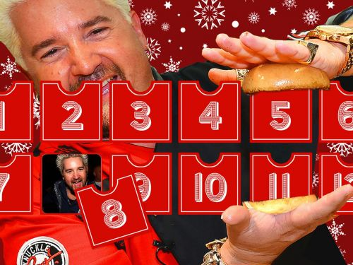 The 12 Days of Fieri: A Salute to Guy's Irrepressible Style