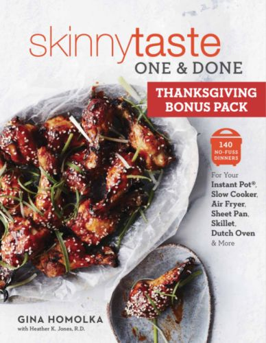 Skinnytaste One and Done: Holiday Menu Bonus Pack