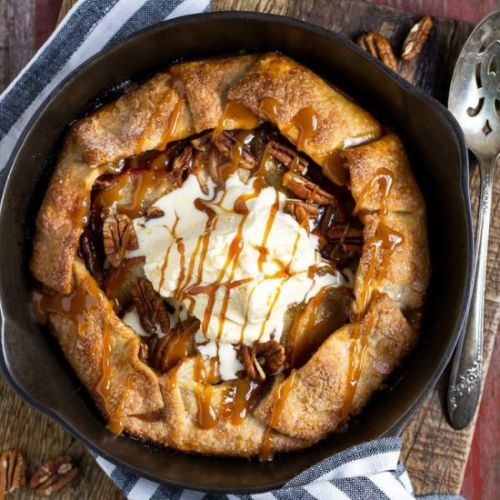 The Easiest Apple Galette Ever