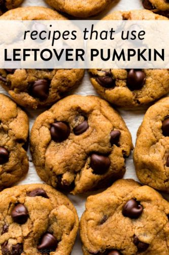 Recipes to Make with Leftover Pumpkin Puree