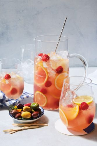 This Weekend's Good Idea: Rosé Sangria with Citrus and Raspberries