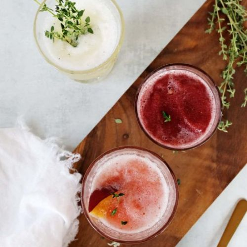 Wine Slushies 3 Ways