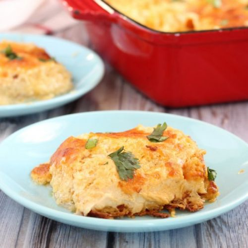 Low Carb Hashbrown Casserole