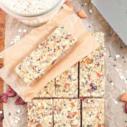 Healthy Fruit Nut and Seed Bars