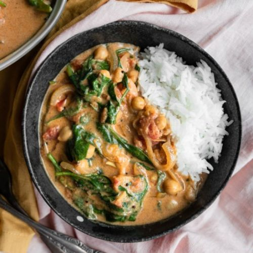 Chickpea and Potato Curry