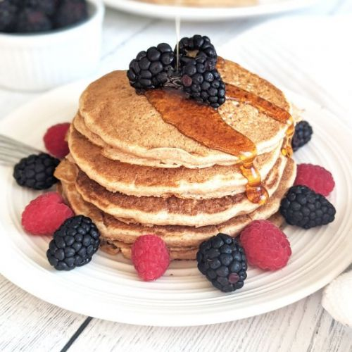 The Best Eggless Pancakes