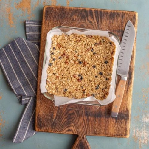 Blueberry Pecan Granola Bar