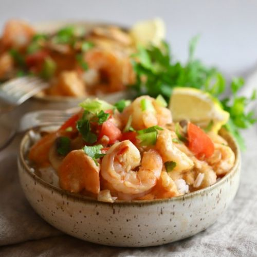 Quick and Easy Creamy Shrimp Creole