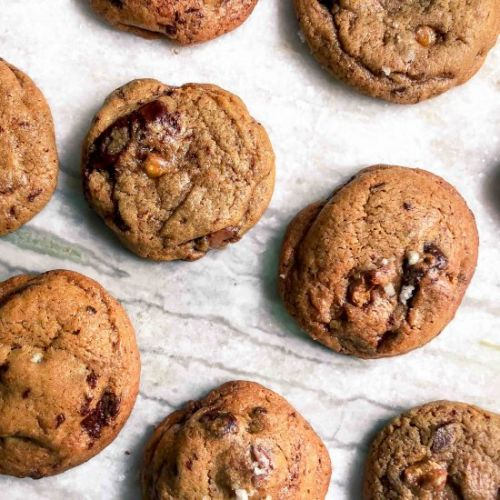 Chocolate Toffee Cookie