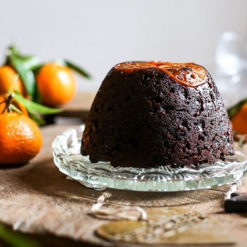 Choc Clementine Christmas Pudding