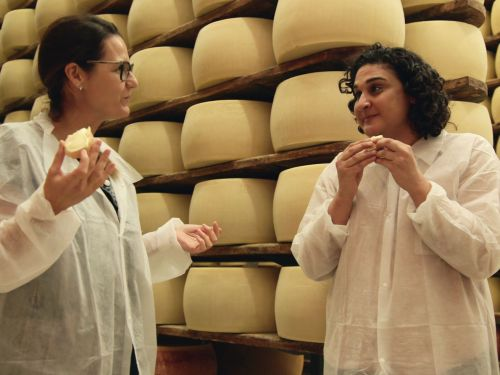 'Salt, Fat, Acid, Heat' Recap: Samin Nosrat Samples the Bounty of Olive Oil and Parmesan in Italy