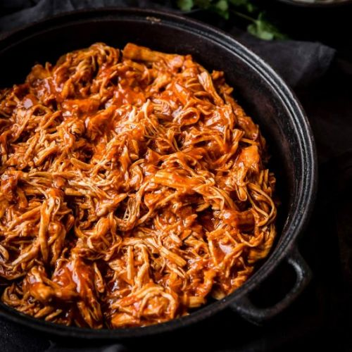 Sweet & Smoky Pulled Chicken