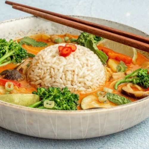 Thai Red Curry and Vegetables