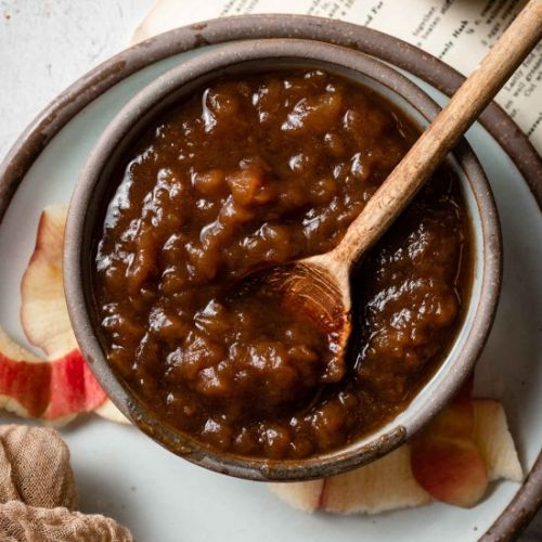 Homemade Slow Cooker Apple Butter