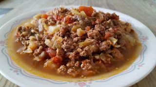 Pressure Cooker: Unstuffed Cabbage