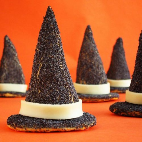 Crescent Roll Witch Hats