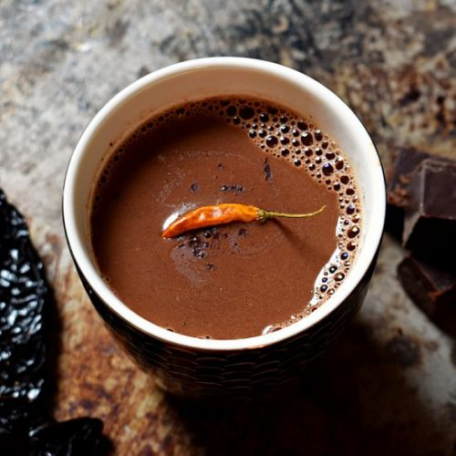 Spicy & Boozy Hot Chocolate
