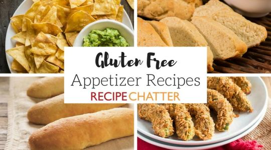 Party Appetizers: 11 Gluten Free Appetizer Recipes