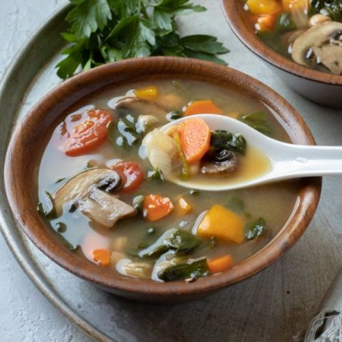 Pre-vacation Vegetable Soup