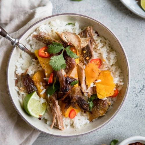 Braised Asian Pork Shoulder