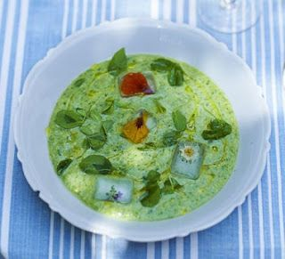 Late Summer Green Gazpacho By Ric Orlando