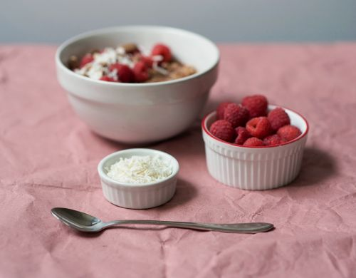 Chocolate Raspberry Oatmeal