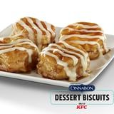 KFC's New Cinnabon Dessert Biscuits Are the Ultimate Combination of Sweet and Savory