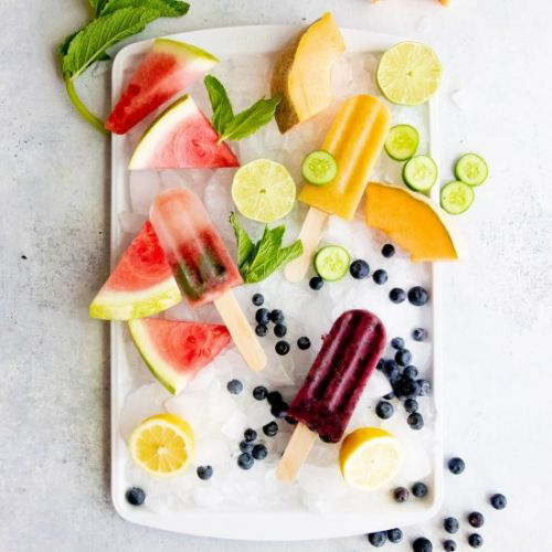 Healthy Frozen Fruit Pops