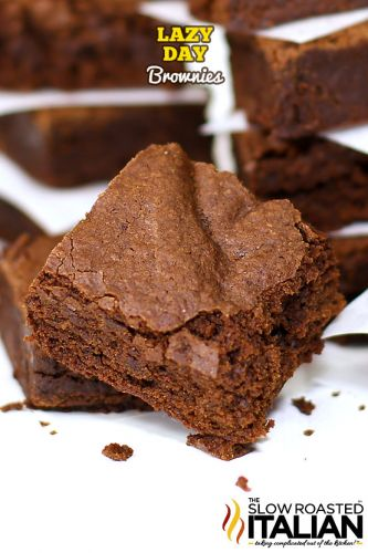 Lazy Day Brownies