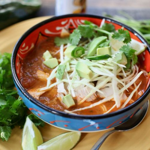 Spicy 'Mexican Style' Chicken Soup