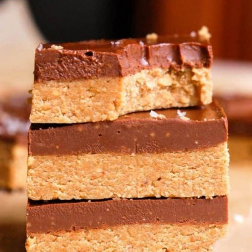 No-Bake Chocolate PB Bars