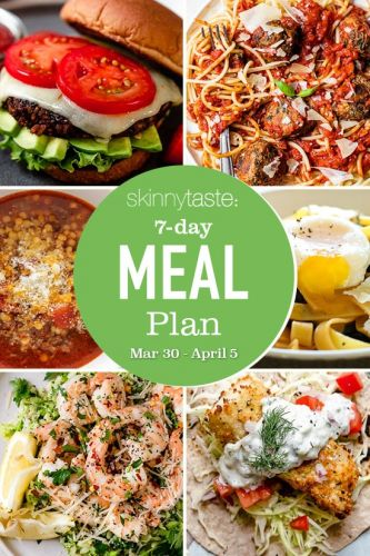 7-Day Healthy Meal Plan