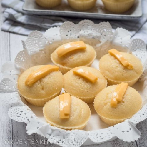 Butter Puto with Cheese