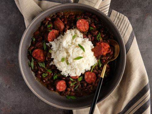 A Hearty Red Beans and Rice Recipe Inspired by Mexican Flavors