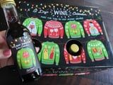 Sleigh What?! Sam's Club's Ugly Christmas Sweater Wine Advent Calendar Only Costs $38