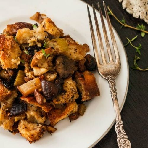 Stuffing with Pear