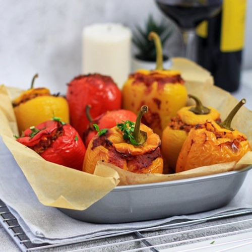Stuffed Peppers - best recipe ever
