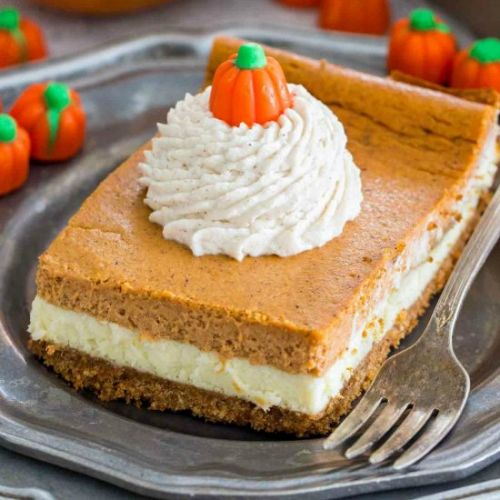 Ultimate Pumpkin Cheesecake Bars