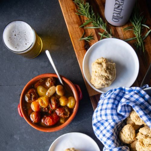 Olive Oil Biscuits Tomato Confit