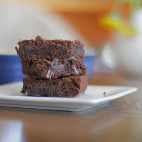 Very Chocolate Cherry Brownies