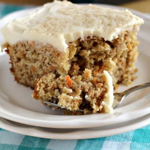 Carrot Cake w/ Maple Cream Frosting