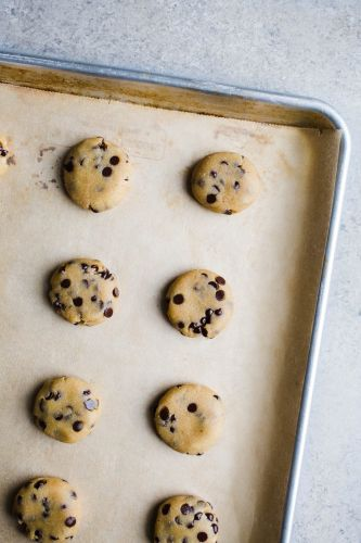 Gluten Free: Olive Oil Chocolate Chip Cookies