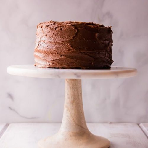 Fudgy Chocolate Cake with a Twist