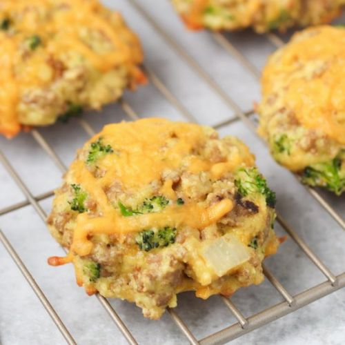 Turkey, Broccoli & Cheddar Biscuits