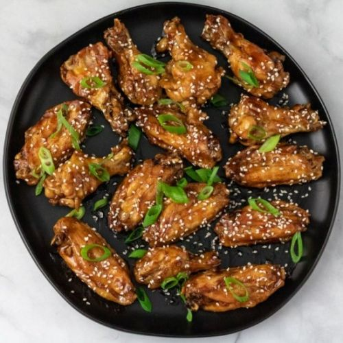 Oven Baked Teriyaki Chicken Wings
