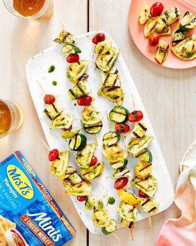 SPONSORED POST: Recipe: 2 Ideas for Easy Grilled Mini Pierogy Kebabs