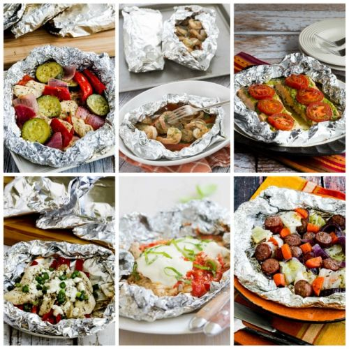 Amazing Low-Carb Foil Packet Dinners